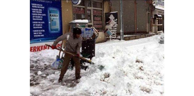 Van'da kar yağışı; Okullar tatil, yollar kapalı