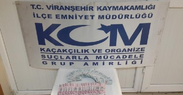 Viranşehir'de sahte para operasyonu: 2 gözaltı