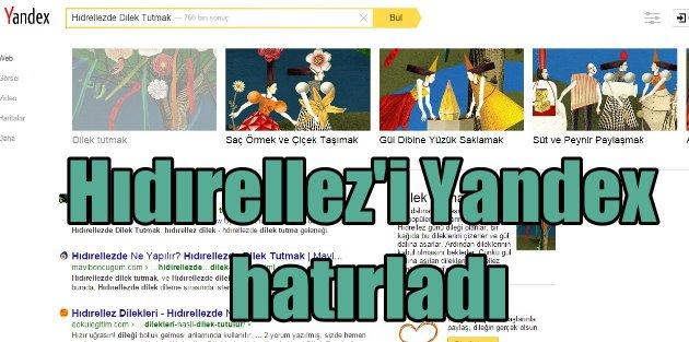 Yandex ile Alışılmadık Bir Hıdırellez Deneyimi