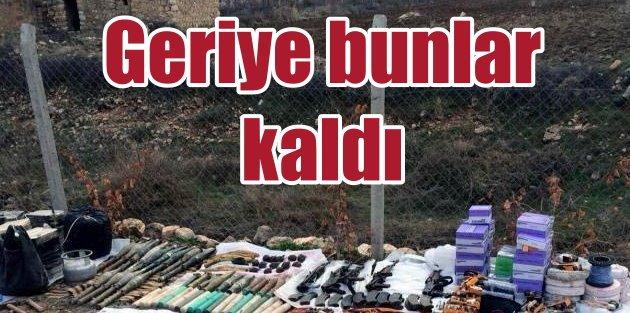 Yasak kalktı, PKK'dan Dargeçit'te bunlar kaldı