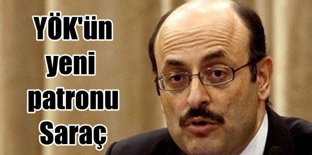 YÖK'ün yeni patronu Prof.Dr Yekta Saraç oldu