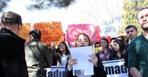 Yozgat'ta Kadınlar Günü etkinliğinde arbede çıktı