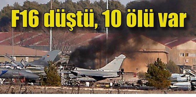 Yunan uçağı İspanyada dehşet saçtı, 10 ölü var