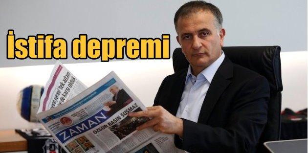 Zaman Gazetesinde istifa depremi: Dumanlının yerine Bilici geldi