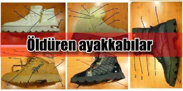 Zehirli ayakkabılar bulunamadı, bakanlık vatandaşlardan destek istedi