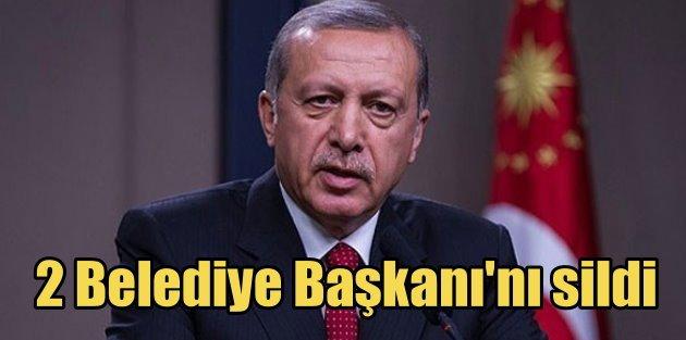 Ziyaret krizi: Erdoğan programdan iki belediye başkanını sildi