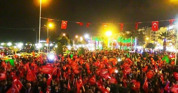 Zonguldak'ta Cumhuriyet Bayramı Kutlandı (3)