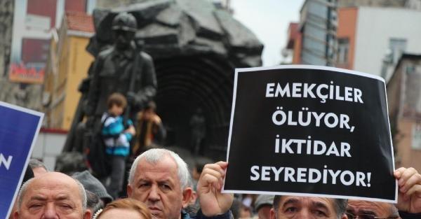 Zonguldak'ta, Karaman'daki Maden Kazası Protesto Edildi