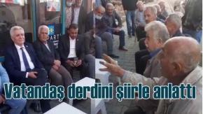 Çaresiz vatandaş İYİ Parti'ye derdini şiirle anlattı