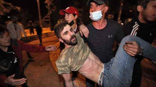 Kudüs karıştı, çok sayıda yaralı var