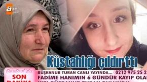 Büşranur Turan, Esra Erol#039;un programındaki sözleri izleyenleri hayrete düşürdü