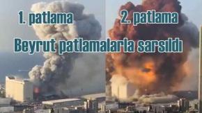 Lübnan'da korkunç patlama