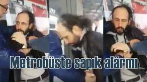 Metrobüste sapık alarmı | Mide bulandıran olay