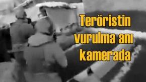 PKK'lı teröristin vurulma anı